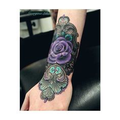 Imaginative Rose Tattoos found on Polyvore featuring women's fashion, accessories, body art and tattoos