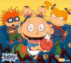 Show TV 90s Cartoons | Kids nowadays might be familiar with the Rugrats characters from All ...