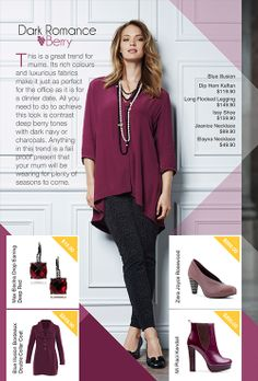 Dark Romance Berry, a hot trend this season