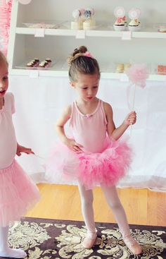 Icing Designs: Ballerina Bakery Birthday Part Part 2