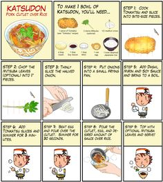 In Japan etc e tal - japanese recipe comics