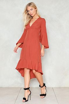 Love in Motion Midi Dress