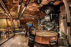 China has the world's largest population—and, with the opening of the Starbucks Reserve Roastery Shanghai, the world's largest Starbucks. Its 30,000 square fee...
