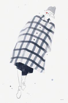 Comme des Garçons AW 14 (コム・デ・ギャルソン) © Velwyn Yossy for DASH magazine