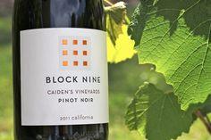 Caiden's Vineyards 2011 Block Nine Pinot Noir #Wine #California #Napa
