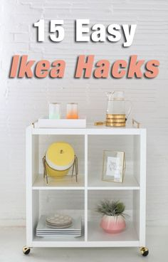 Upgrading your apartment has never been easier than with these simple DIY Ikea hacks.
