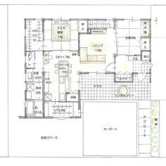 自動代替テキストはありません。 Japanese House, Floor Plans, Flooring, How To Plan, Studio, Architecture, Wine, Instagram, Design