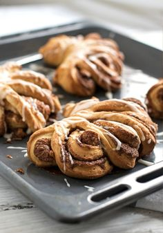 These beautiful Cinnamon Roll Swirls are the perfect sweet treat to serve at your next brunch. Pair this recipe alongside a unique coffee creation and your guests are sure to ask for this breakfast recipe again!