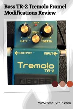 Click here to listen to the original Boss TR-2 Tremolo pedal, and the same pedal after it's been upgraded by Fromel Electronics! Old Crow Medicine Show, Guitar Reviews, Red Led Lights, Seamless Transition, Guitar Lessons, Guitars, Boss, Electronics