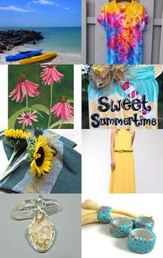 SUMMERTIME  by Laura on Etsy--Pinned with TreasuryPin.com