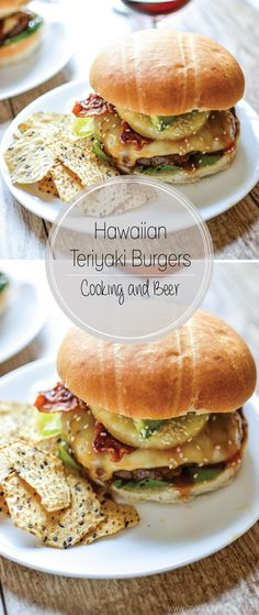 Hawaiian Teriyaki Burgers are a dinner recipe that needs to be added to your weekly menu!: