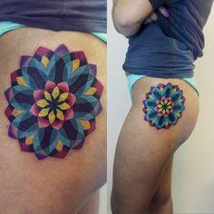 Sasha Unisex | #flower #mandala #tattoo ✨