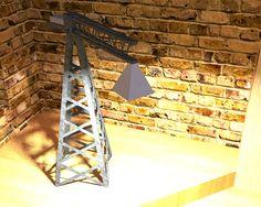 Industrial crane Lamp