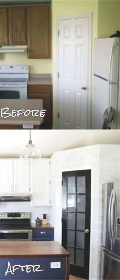 kitchen remodel ideas before and after remodeled small kitchens before and after reveals with - Small Kitchen Remodel Before And After
