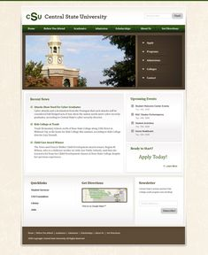Design of the day. Free Website Templates, Green Style, Get Directions, Green Fashion, Design Templates, Compass, Web Design, How To Apply, Activities