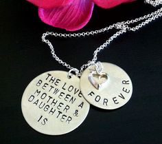 mother daughter mother daughter necklace gifts for by natashaaloha, $44.00
