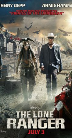 The Lone Ranger (2013)  I quite enjoyed this movie. Not at all what I was expecting and I really liked the  fact that Tonto was the guy with the smarts.