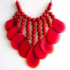 red necklace - Buscar con Google