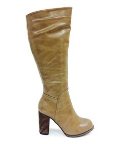 Look what I found on #zulily! Taupe Greer Boot #zulilyfinds