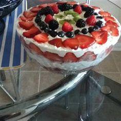 Angel Fruit Trifle Allrecipes.com