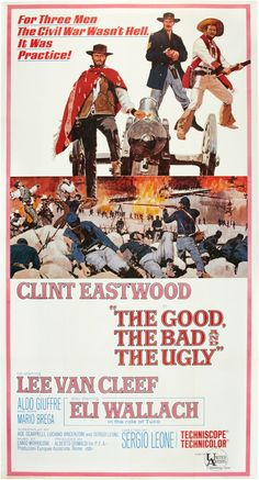 THE GOOD, THE BAD AND THE UGLY -1966 Italian epic Spaghetti western film directed by Sergio Leone