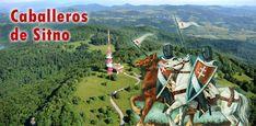 Una de las leyendas eslovacas más populares. Descubre quiénes son los misteriosos caballeros de Sitno. Ferris Wheel, Fair Grounds, Travel, Youngest Child, Two Daughters, Ruins, Knights, Legends, Castles
