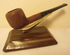Vintage Streamliner Brand Oval Shaped Estate Briar Tobacco Smoking Pipe France