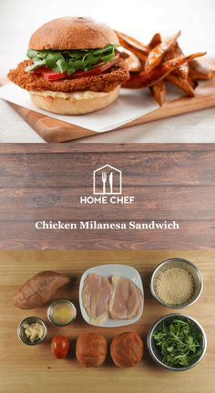 Chicken Milanesa Sandwich