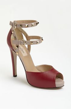 Valentino Stud Sandal available at Nordstrom