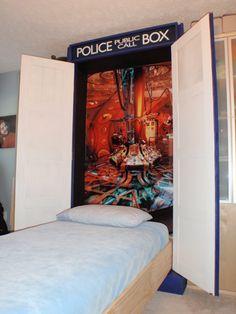 TARDIS Murphy Bed <3
