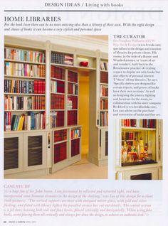 Library bookcase, secret door - fabulous concept