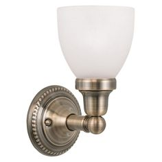 Livex Classic 1021-01 Wall Sconce - 1021-01