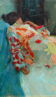 ☂ Paper Lanterns and Parasols ☂ Japonisme Art and Illustration - Johanna Harmon | Silk Robe