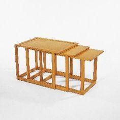 Eliel Saarinen / nesting tables, set of three < Modern Design, 11 March 2001 < Auctions | Wright