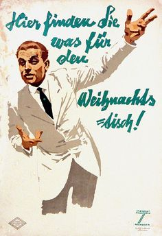 Hohlwein Ludwig Hier finden Sie was für den Weihnachtstisch Jahr: ca.1920