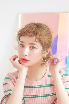 Korean Make Up Look  #Ulzzang #Hairstyle #Korean #얼짱