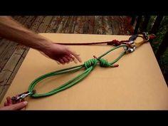 Leren knopen met youtube. Climbing Tools - Purcell Prusik, Part 2