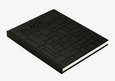 Black Architecture in Monochrome on Behance Black Architecture, Editorial Design, Book Design, Monochrome, Graphic Design, Behance, Notebook, 3d, Logo