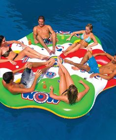 Another great find on #zulily! Six-Person Tube-a-Rama Float by WOW World of Watersports #zulilyfinds