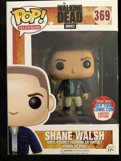 d0a5ea795d Funko POP The Walking Dead Shane Walsh #369 2016 NY Con Exclusive Vinyl  Figure