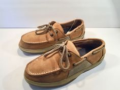 6882dd6fcb6 Sperry Top-Sider Brown Leather Loafers Youth Size 6M  fashion  clothing   shoes  accessories  kidsclothingshoesaccs  boysshoes