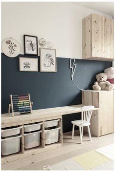 Ikea Kids Bedroom, Trofast Ikea, Kids Room Design, Playroom Decor, Baby Boy Rooms, New Room, Favorite Color, Daughter, Toys
