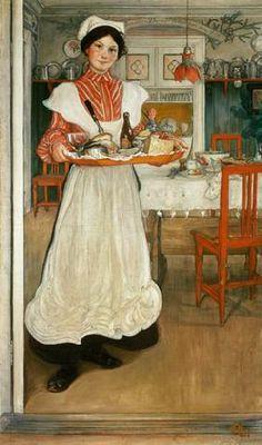 Larsson Carl - ''Martina'' / Carl Larsson / 1904