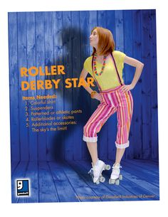 Halloween is rolling around quick! Be a Roller Derby Star for an easy DIY costume that you can throw together with items from your closet or a trip to Goodwill!