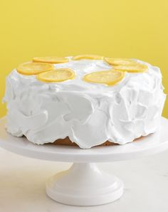 Light, lemon-flavored cake--a sweet summer treat!