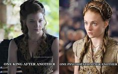 Margaery verses Sansa problems