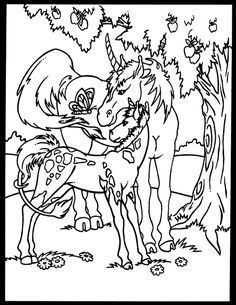 Magical Unicorns Stained Glass Coloring Book Dover Publications