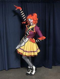 Julia Bothun - Clown for Ringling Bros. And Barnum & Bailey Circus (Red Unit)