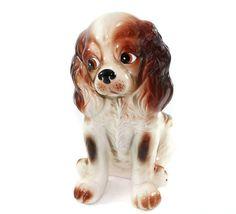 Vintage Cocker Spaniel Dog Figurine Japanese by TheGoldDaisy
