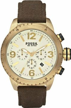 Fossil Vintaged Bronzed Chronograph Mens Watch DE5005 Fossil. $89.95. Save 33% Off!